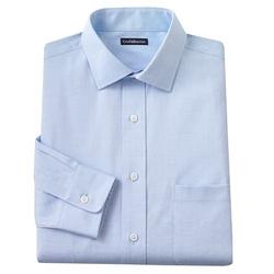 Croft & Barrow - Slim-Fit Solid Point-Collar Dress Shirt
