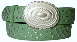 Fronhofer - Weathered Studded Belt