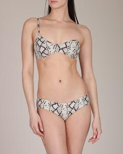 Zimmermann Swimwear - Flourishing Snake Bandeau Bikini