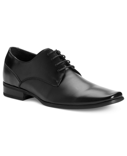 Calvin Klein - Brodie Leather Oxfords Shoes