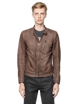 Belstaff  - Leigham Softened Suede Moto Jacket