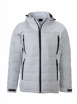 James & Nicholson - Puffa Hybrid Ski Jacket