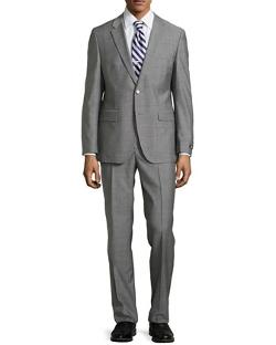 Hugo Boss  - Windowpane Two-Piece Suit