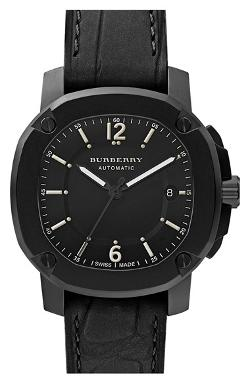 Burberry The Britain - Automatic Alligator Strap Watch