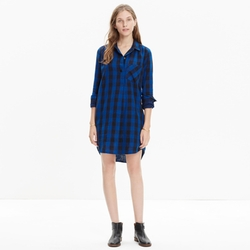 Bonanza - Buffalo Check Shirt Dress