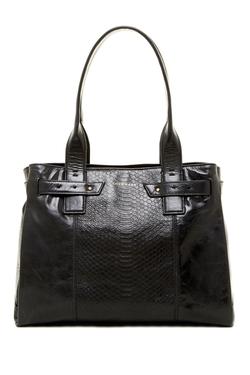 Bonheur Large Leather Satchel - Leather Satchel Bag