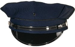 Rothco - Professional 8 Point Navy Blue Police Security Cap