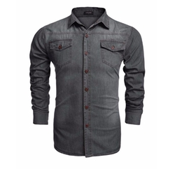 Bluetime - Casual Denim Shirt