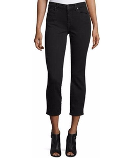 7 For All Mankind - Kimmy Slim Illusion Lux Cropped Jeans