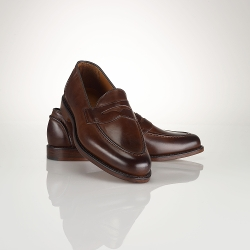 Ralph Lauren - Calf Singleton Penny Loafer Shoes