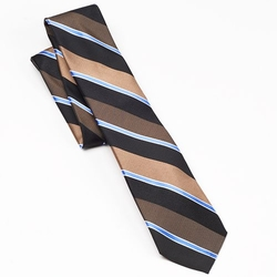 Chaps Parker - Wide-Striped Tie