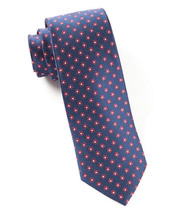 The Tie Bar  - Silk Floral Print Tie