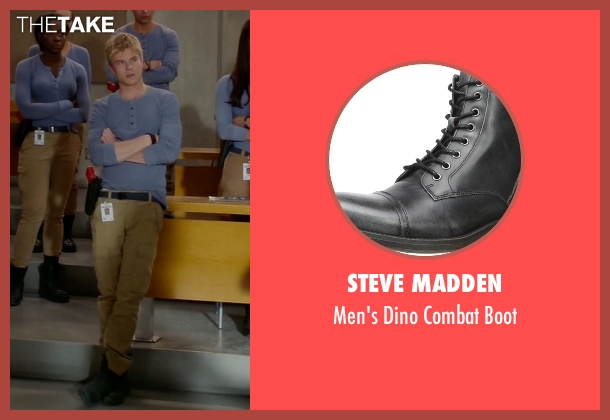 Steve Madden black boot from Quantico seen with  Caleb Haas  (Graham Rogers)
