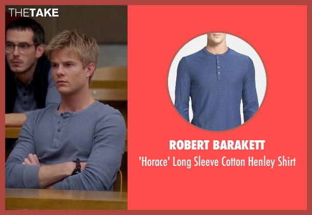 Robert Barakett blue shirt from Quantico seen with  Caleb Haas  (Graham Rogers)
