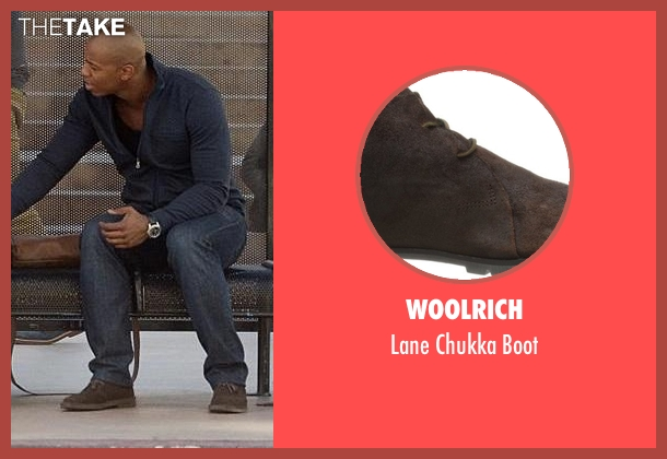 Woolrich brown boot from Supergirl seen with  James Olsen (Mehcad Brooks)