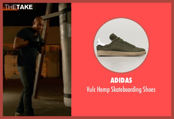 Adidas green shoes from Supergirl seen with  James Olsen (Mehcad Brooks)