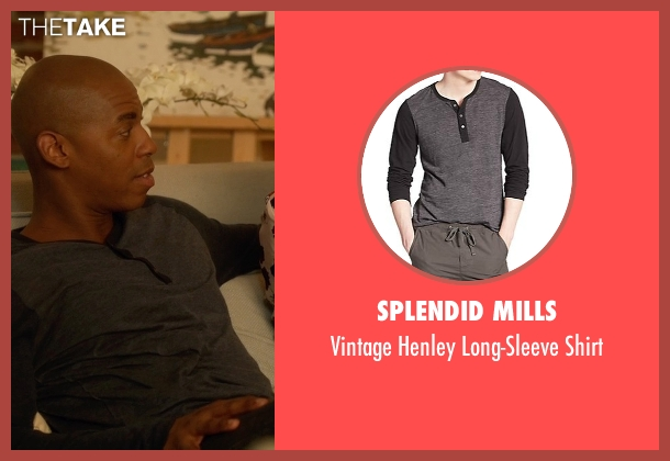 Splendid Mills shirt from Supergirl seen with  James Olsen (Mehcad Brooks)