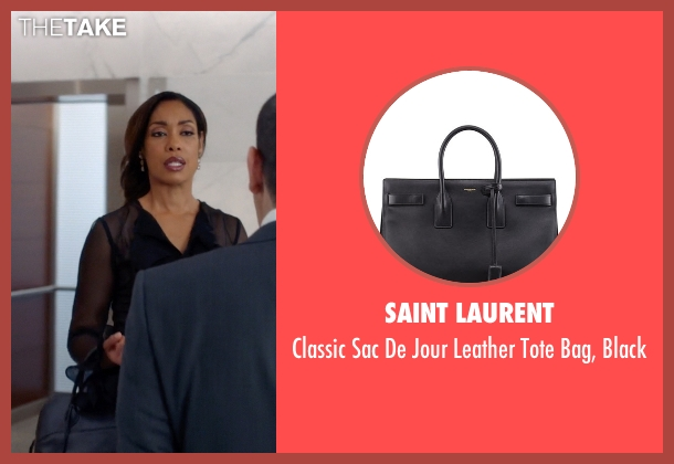 Saint Laurent black black from Suits seen with  Jessica Pearson (Gina Torres)