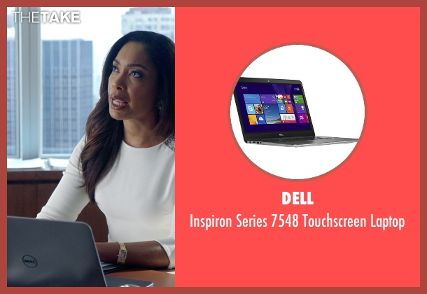 Dell laptop from Suits seen with Jessica Pearson (Gina Torres)
