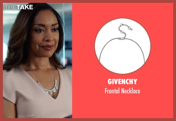 Givenchy necklace from Suits seen with Jessica Pearson (Gina Torres)