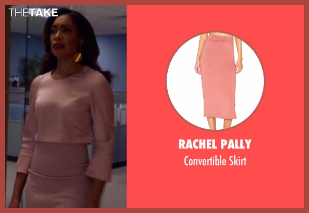 Alice + Olivia pink skirt from Suits seen with  Jessica Pearson (Gina Torres)