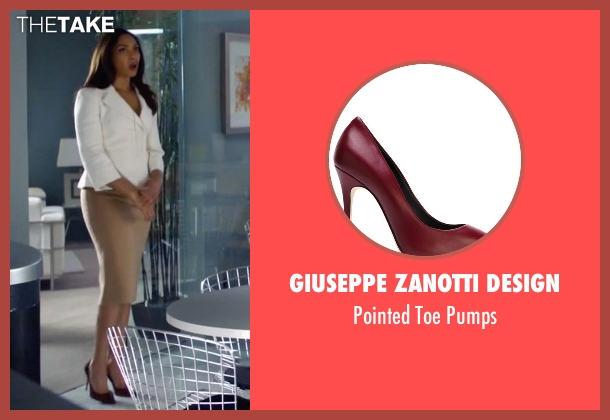 Giuseppe Zanotti Design red pumps from Suits seen with  Jessica Pearson (Gina Torres)