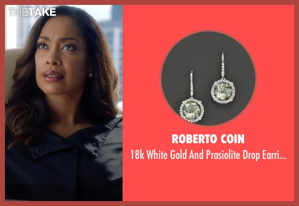 Roberto Coin silver diamonds from Suits seen with  Jessica Pearson (Gina Torres)