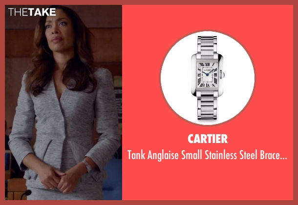 Cartier silver watch from Suits seen with  Jessica Pearson (Gina Torres)