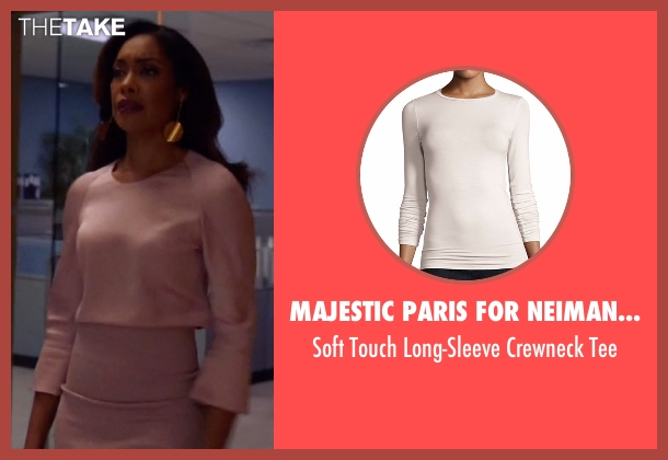 Majestic Paris for Neiman Marcus tee from Suits seen with  Jessica Pearson (Gina Torres)