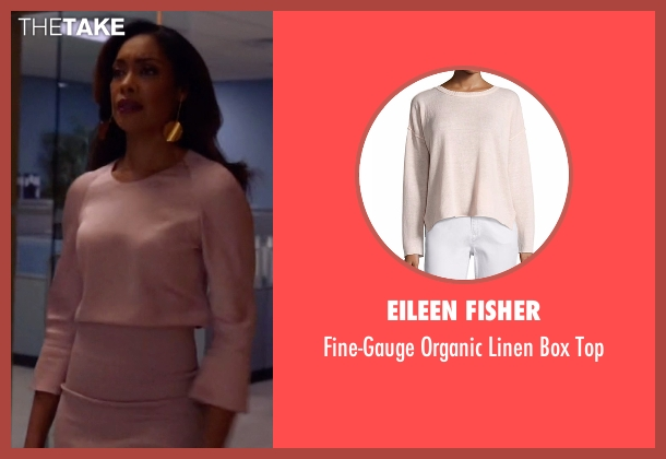 Eileen Fisher top from Suits seen with  Jessica Pearson (Gina Torres)