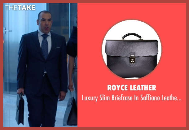 Royce Leather black lining from Suits seen with  Louis Litt (Rick Hoffman)