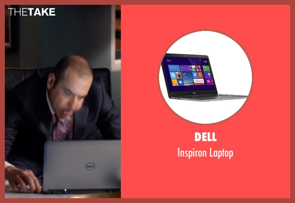 Dell laptop from Suits seen with  Louis Litt (Rick Hoffman)
