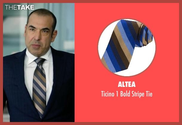 Altea tie from Suits seen with  Louis Litt (Rick Hoffman)