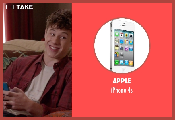 Apple 4s from Modern Family seen with  Luke Dunphy (Nolan Gould)