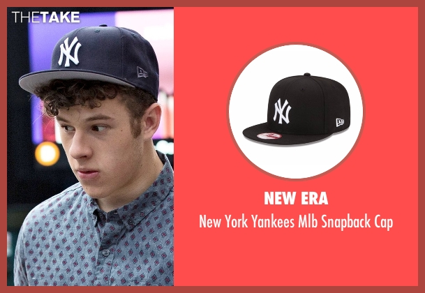 New Era black cap from Modern Family seen with  Luke Dunphy (Nolan Gould)