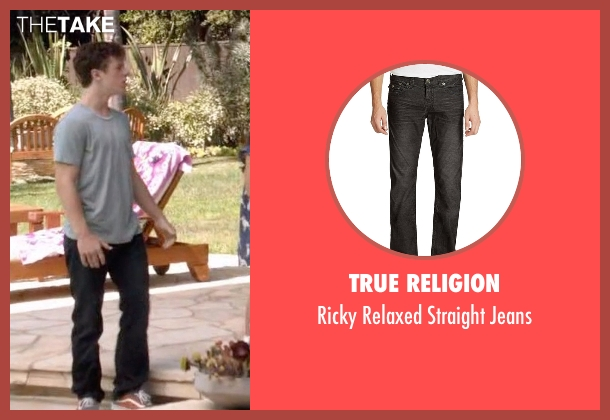 True Religion black jeans from Modern Family seen with  Luke Dunphy (Nolan Gould)