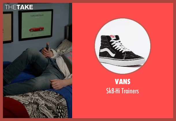 Vans black trainers from Modern Family seen with  Luke Dunphy (Nolan Gould)