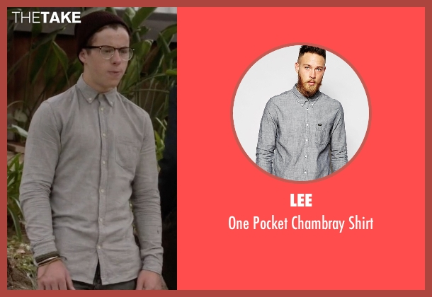 Lee gray shirt from Modern Family seen with  Luke Dunphy (Nolan Gould)