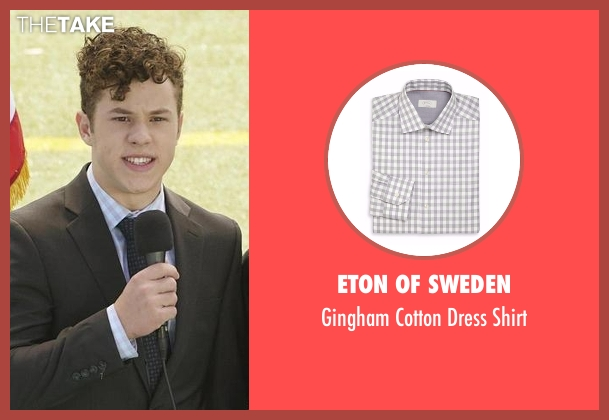 Eton of Sweden gray shirt from Modern Family seen with  Luke Dunphy (Nolan Gould)