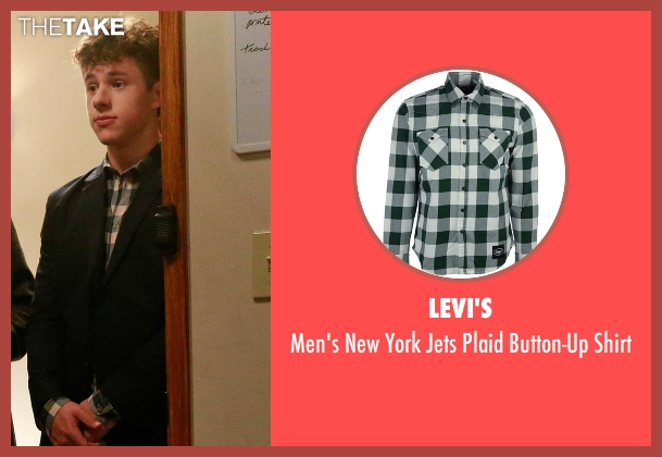 Levi's green shirt from Modern Family seen with  Luke Dunphy (Nolan Gould)