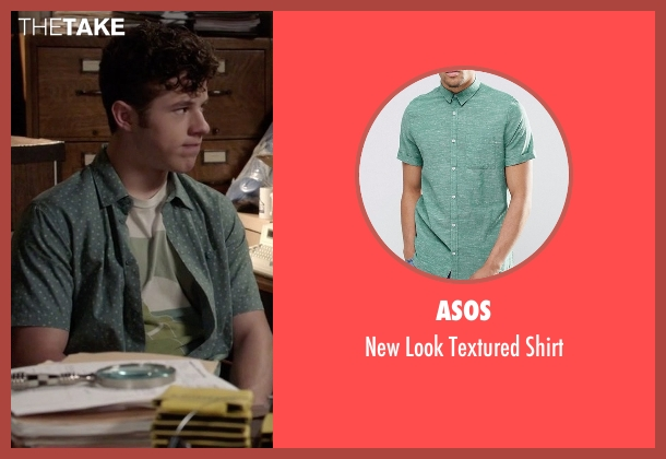 Asos green shirt from Modern Family seen with  Luke Dunphy (Nolan Gould)