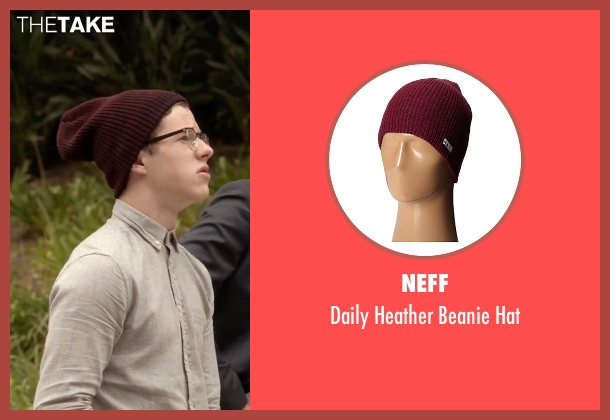 Neff red hat from Modern Family seen with  Luke Dunphy (Nolan Gould)