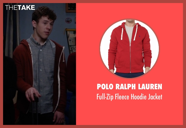 Polo Ralph Lauren red jacket from Modern Family seen with  Luke Dunphy (Nolan Gould)