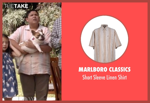Marlboro Classics beige shirt from Modern Family seen with  Manny Delgado  (Rico Rodriguez)