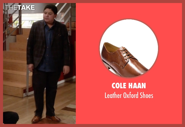 Cole Haan brown shoes from Modern Family seen with  Manny Delgado  (Rico Rodriguez)