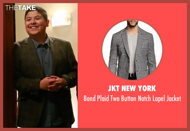JKT New York gray jacket from Modern Family seen with  Manny Delgado  (Rico Rodriguez)