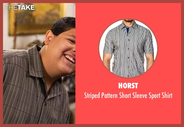 Horst gray shirt from Modern Family seen with  Manny Delgado  (Rico Rodriguez)