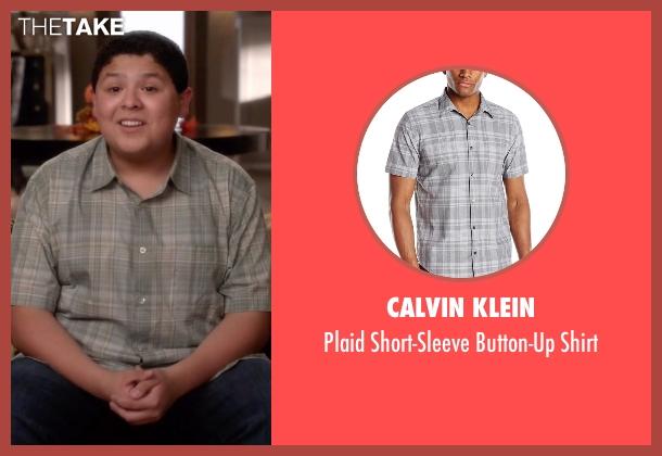 Calvin Klein gray shirt from Modern Family seen with  Manny Delgado  (Rico Rodriguez)