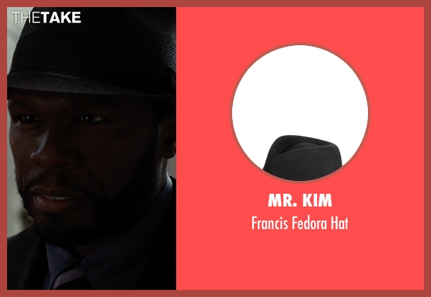 Mr. Kim black hat from Southpaw seen with 50 Cent (Unknown Character)