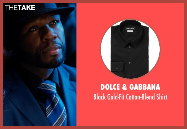 Dolce & Gabbana black shirt from Southpaw seen with 50 Cent (Unknown Character)